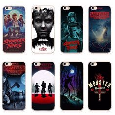 Stranger things plastic phone case cover for iphone 5 se 6 plus 7 7 p