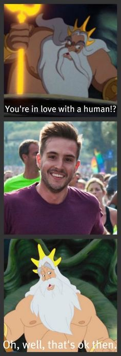 Ridiculously Photogenic Guy - Ariel's life would have been a lot easier if she loved him instead.