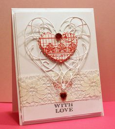 142 Best Memory Box Heart Cards Images Memory Box Dies