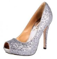 This glitter-covered leather Badgley Mischka pump gives every occasion an instant dose of shine and texture.These dramatic pumps are sure to get you noticed in all the right ways! You'll be dazzling with every single step in this Humbie pump. I Love My Shoes, Me Too Shoes, Sparkly Pumps, Cheap Womens Shoes, Badgley Mischka Shoes, Party Shoes, Peep Toe Pumps, Beautiful Shoes, Pump Shoes