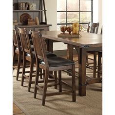 Micah Dining Counter Height Chair by Crown Mark