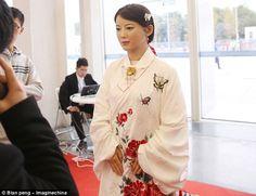 """Ella es Jia Jia, la """"Diosa robot"""", capaz de aprender habilidades como entender el lenguaje humano y detectar y reconocer las expresiones faciales."""