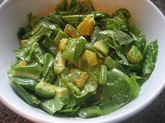 Avocado Citrus Salad.  This was very tasty.  I wil have it again, with avacados that aren't as soft.