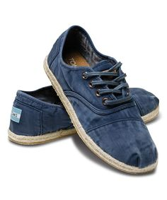 Look at this TOMS Blue Ceara Classic Cordones on #zulily today!