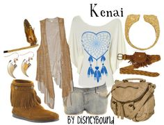 Kenai from Brother Bear - inspired outfit!