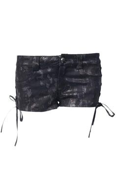 Punk Rave Snakeskin Gothic Shorts