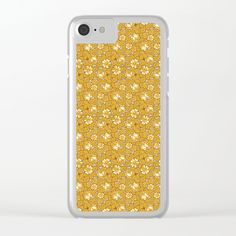 #Rose #pattern... #Clear #iPhone #Case by pASob | @Society6 https://society6.com/product/rose-pattern388295_clear-case#s6-6863622p56a72v512a73v516