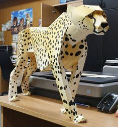 PAPERMAU: Cheetah Pa