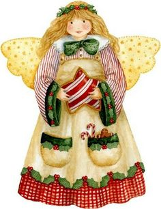 Country Christmas angel