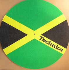 Jamaican Technics Slipmat