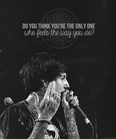 Can't help but like this band. Bmth