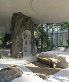 Dream Home Design, My Dream Home, Home Interior Design, Exterior Design, Interior Architecture, Organic Architecture, Future House, My House, Aesthetic Bedroom