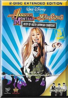 The sold-out concert event that rocked the nation is bursting onto Disney DVD for a limited time only in a two-disc extended edition with a 3-D concert experience so real it's like having a backstage pass! Only $7.49 with Free Shipping!
