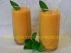 Mangovo-pomerančové smoothie