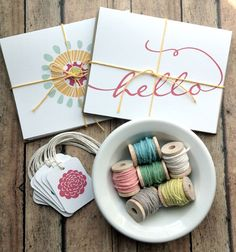 Adorable cards and tags from Print Smitten; would look cute on a LO (from IHeart Organizing blog)