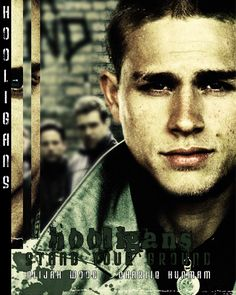An friend requested DVD covers to Green Street(which is my favorite movie Hooligans. This is the front cover Green Street Hooligans. Green Street, Charlie Hunnam, Sons Of Anarchy, Most Beautiful Man, Man Alive, Perfect Man, Good Movies, Style Guides, Famous People
