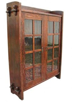 Gustav Stickley bookcase, this one is the original selling for 14k dollars.  I want to build a reproduction.