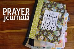 so the cook said: MOPS Prayer Journals and a Summer Challenge