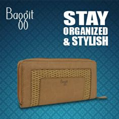 Get stylishly efficient today by choosing your statement piece from a wide array of wallets at www.baggit.com.