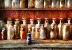 Pharmacy.   The medicine counter