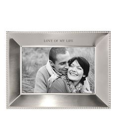 Look what I found on #zulily! 'Love of My Life' Frame #zulilyfinds