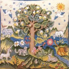 Erica Wilson Four Footed Beasts in the Garden of Eden