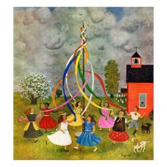 Image result for maypole painting