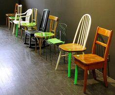 mobilier design récupéré et rénové par le collectif 5.5 designers