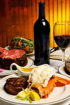 Jimmy Vs Steakhouse and Tavern - Cary, NC. Certified Angus Beef, fresh seafood, Italian specialties, homemade desserts and one of the areas most extensive wine lists.     http://manhattangourmetfoods.com/steaks.html