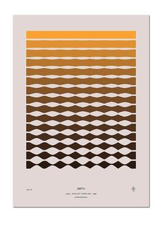 Senses is a series of posters using basic geometric forms and colors to enforce a message that each piece communicates. This is a project by Ashley Pawlak, a designer from Brooklyn New York.