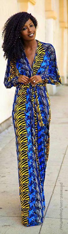 Issa Zebra Print Maxi Dress
