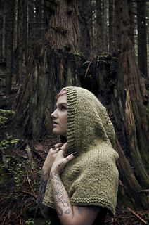 Forage - cape pattern by Caitlin Ffrench - Dark Woods - on Ravelry