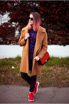 An oversized coat kind of day