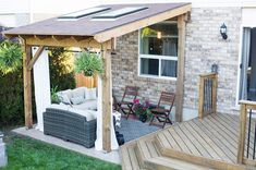 Outdoor covered patio ideas backyard porch ideas back porch ideas small patio ideas covered outdoor patio . Small Covered Patio, Backyard Covered Patios, Covered Patio Design, Small Outdoor Patios, Outdoor Patio Designs, Small Backyard Patio, Outdoor Living, Patio Ideas, Porch Ideas