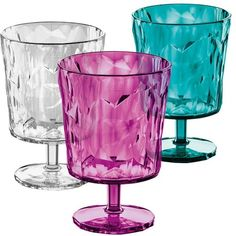Glass på stett – for piknik og hagefester! Colored Glass, Drinkware, All Modern, Dinnerware, Shot Glass, Modern Furniture, Wine Glass, Beverages, Candle Holders