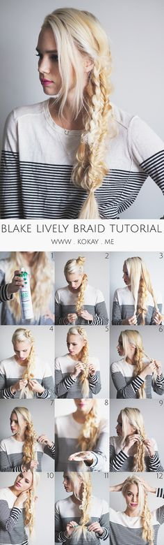 Blake Lively Triple Braid Tutorial