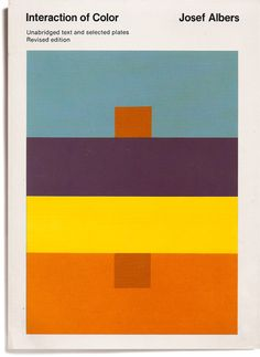 JOSEF ALBERS, INTERACTION OF COLOR.