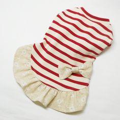 ■ボーイッシュイメージボーダーに女の子っぽさを添えてみました。  身頃は張りのある少し硬めのニットです。伸縮は少なめです。 ■かぶりタイプです。■洗濯について...|ハンドメイド、手作り、手仕事品の通販・販売・購入ならCreema。