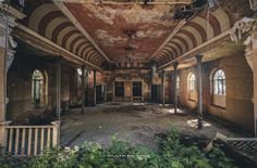 Lost place altes ballhaus