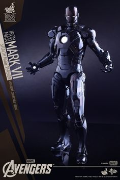 Hot Toys – MMS282 –【馬克七匿蹤版】1/6 比例 Iron Man Mark VII Stealth Mode Version | 玩具人Toy People News