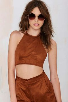 Betina Halter Crop Top | Shop Clothes at Nasty Gal!