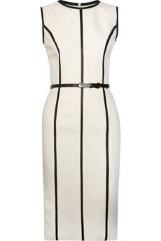 Michael Kors dress | More here: http://mylusciouslife.com/wishlist-cream-white-and-beige-dresses/