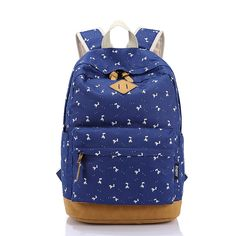 52.40$  Buy now - http://ali0pm.worldwells.pw/go.php?t=32648767519 - New Arrival Nature Canvas Backpack Teen Girls School Bag Women Fashion Backpack Rucksack