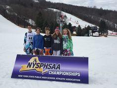 ECS Lady Eagles Ski Team State Champs