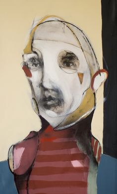 Daniel -EARS- O'Toole  - transparent layer, paint, wax,  textural distortions, painting and analogue photography