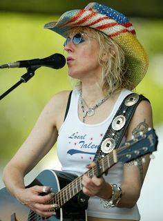 "Lucinda Williams; ""Blue...is the color of night....when the red sound...disappears from the sky..."""