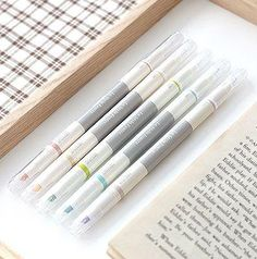 Iconic Dual Pastel Pen Set