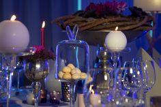 Tischdekorationen für Galaveranstaltungen. Elegante und edel.