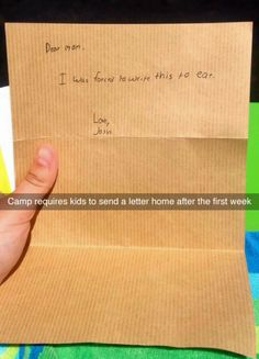 """This son and his beautiful letter to his mom.   19 Of The Most """"Thanks, I Guess?"""" Things That Have Ever Happened"""