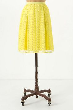 Lawn Party Skirt #anthropologie